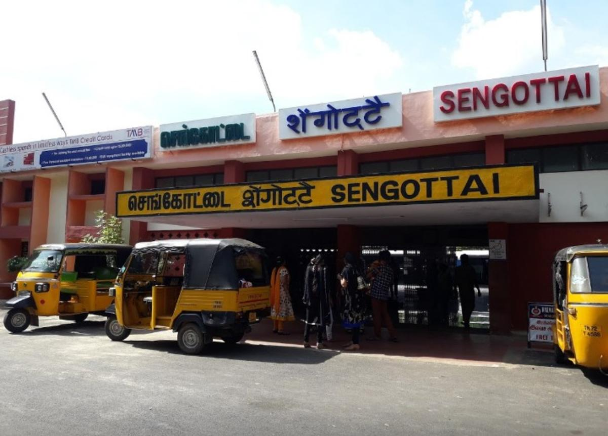 sengottai, sengottai railway station,