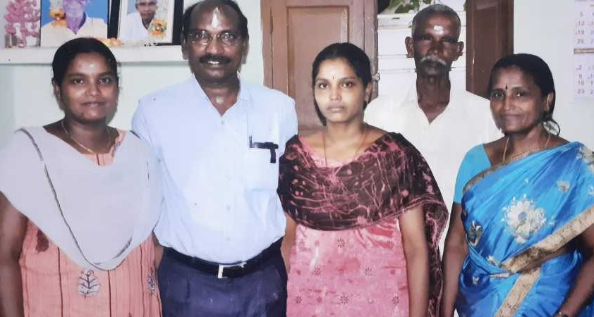 sivan family members, sivan, isro sivan, isro sivan with family,