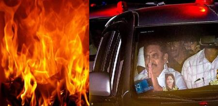 cm edappadi house fire salem