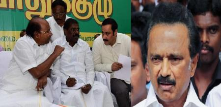 PMK leader GK mani checkmate to dmk