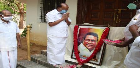 PMK Dr Ramadoss Memorize Vanniyar Sangam Leader Maveeran J Guru