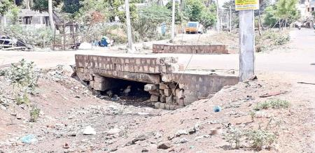 bridge not safe to use thanjai