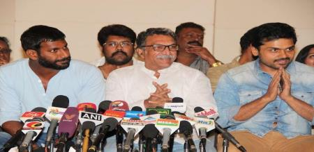 heavy competition to vishal in actors association election