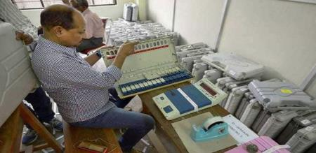 voting machine change election commision explain about that