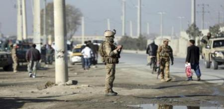 in Afghanistan suicide bomb attack 4 army officers injured