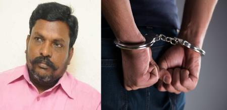 men arrest in oothangarai