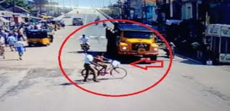 accident video in panrutti