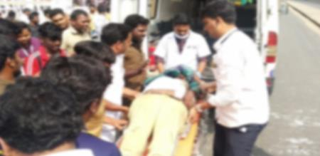 in vellore man accident police investigation