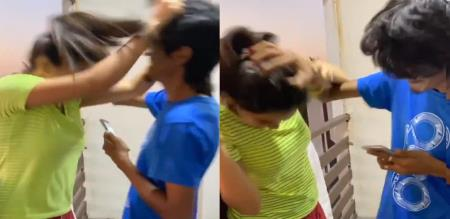 Athulya Ravi funny fight with her lovable brother