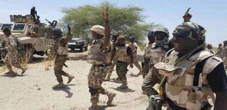 Africa terrorist 89 person killed by army