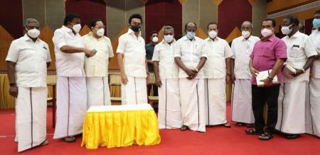 Kanniyakumari ADMK Executives and Cadres joined in DMK