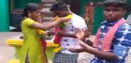 marriage in tik tok viral video