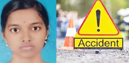 girl car accident in perambalur district