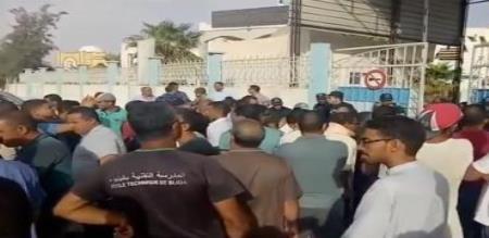 in algeria hospital fire 8 babies died