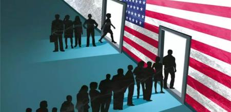 in america h1b visa Indians waiting