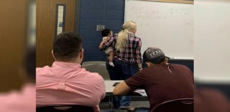 in america teacher help student