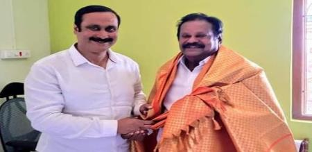 dmk ex minister mullaiventhan support pmk anbumani