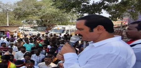 PMK youthwing leader anbumani election campaign