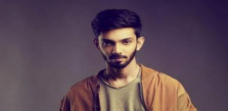 Anirudh is with arivu