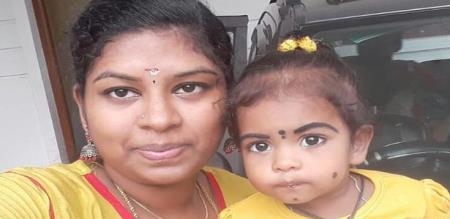 in arakonam mother suicide with child due to dowry and died