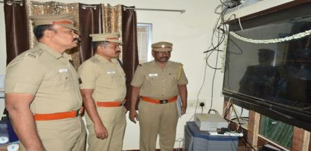 ariyalur police officer work