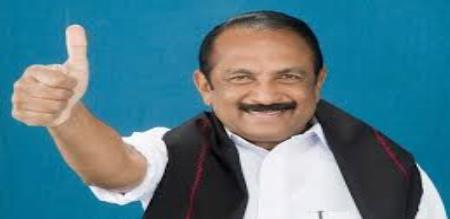 Vaiko says about dmk