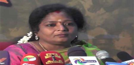 tamilisai says about hindi