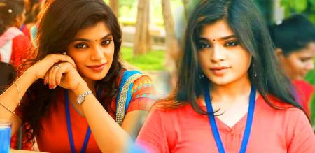 actress aathmika latest image