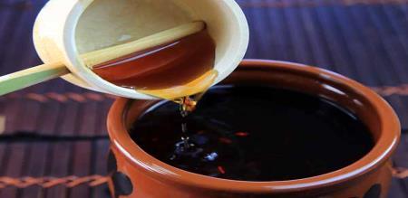 Licorice tea preparation in tamil