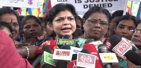 pmk protest against women harassment