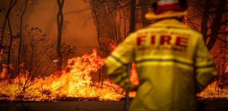 in Australia forest fire govt announce emergency