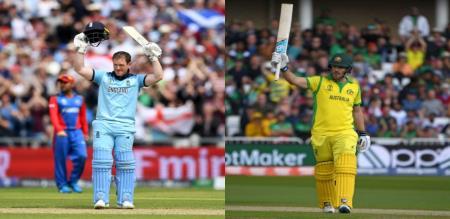 yesterday match Australia beat by england