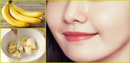 how to apply banana facial