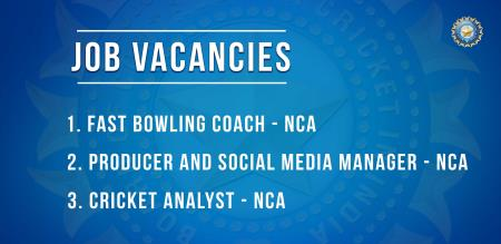 BCCI announce some requirements for NCA