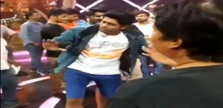bigg boss contestant celebration dance video