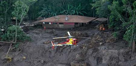 dam collapsed in Brazil peoples died 58 and missing peoples 305