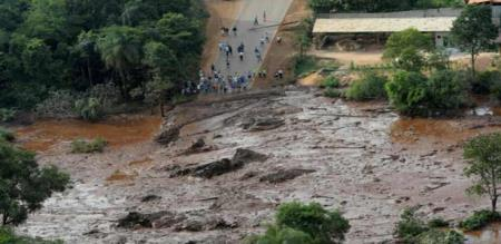 in Brazil dam collapsed 99 peoples died