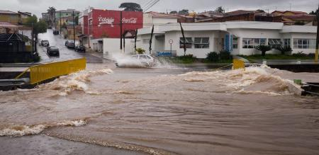 in Brazil rain flood people died and missing