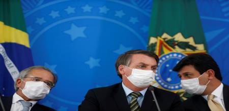 Brazil president posted fake information in social media about Corona