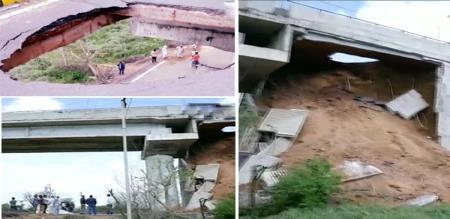 in Hariyana Bye pass Bridge collapsed