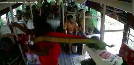 Tenkasi Sankarankoil Thiruvengadam Woman Slipped From Bus and Died