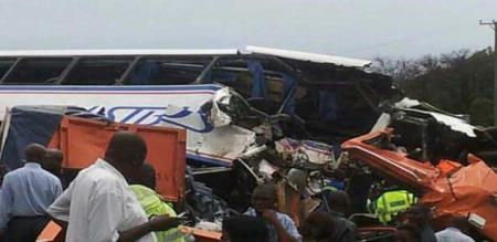 in conga bus accident 20 peoples died