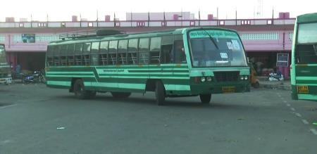 Tamilnadu public Bus transportation started today