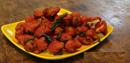 cauliflower bajji recipe in tamil