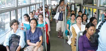 womens free travel in govt bus