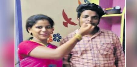 In Chennai husband died wife attempt suicide