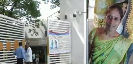 in Chennai college teacher suicide attempt due to love failure