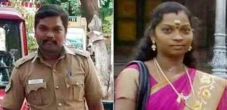 in Chennai husband killed wife and attempt suicide