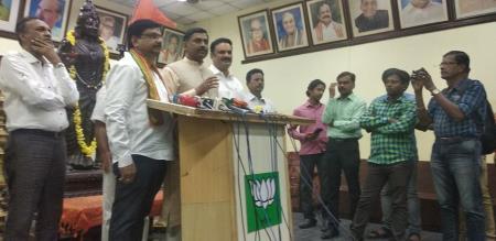 in Chennai bjp national member press meet
