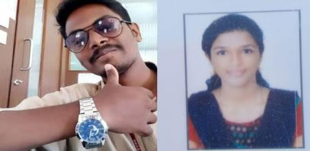 in Chennai love girl died in well crying report